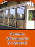 Screens, Windguards & Carports